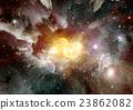 galaxy in a free space 23862082