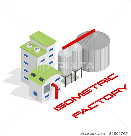 Modern industrial and manufacturing factory 23862767