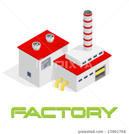 Modern industrial and manufacturing factory 23862768