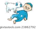 baby, infant, pug 23862792