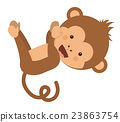 monkey, funny, vector 23863754