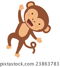 monkey, funny, vector 23863783