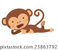 monkey, funny, vector 23863792