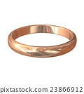 3D rendered image of gold ring 23866912