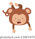 monkey, funny, vector 23867970