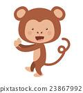 monkey, funny, vector 23867992