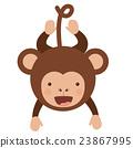 monkey, funny, vector 23867995