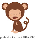 monkey, funny, vector 23867997