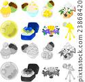 여러가지 귀여운 아이콘 23868420