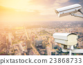 security camera surveillance (CCTV) 23868733