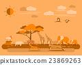矢量 矢量图 非洲 23869263