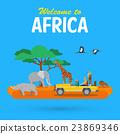 非洲 动物 旅行 23869346