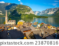 austria village alps 23870816