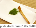 japanese tea, powdered green tea, teaspoon 23872680
