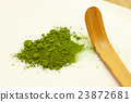 japanese tea, powdered green tea, teaspoon 23872681