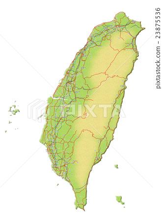 台灣地圖 23875536