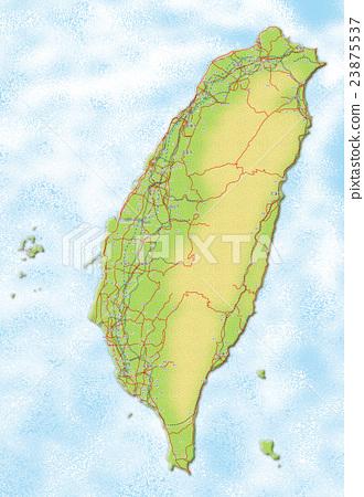 台灣地圖 23875537