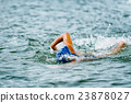 Traithlon or open water swimming 23878027