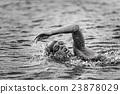 Triathlon competitor 23878029