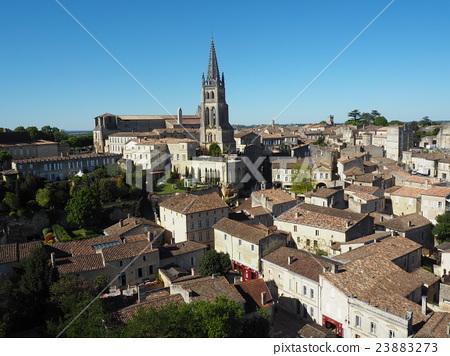 Street of Saint Emilion 23883273