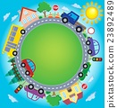 Circle with cars theme image 2 23892489