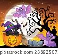 Halloween cat theme image 5 23892507