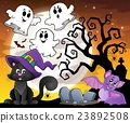 Halloween cat theme image 6 23892508