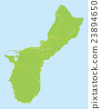 關島 地圖 馬里亞納群島 23894650
