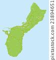 關島 地圖 馬里亞納群島 23894651