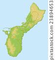 關島 地圖 馬里亞納群島 23894653