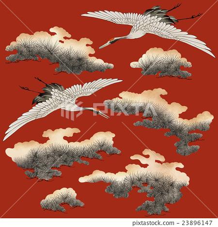 Japanese crane 23896147