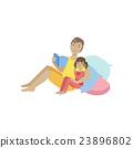 reading, child, person 23896802