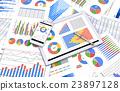 그래프, 데이터, 자료 23897128