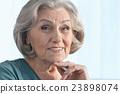 Senior woman portrait 23898074