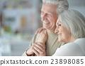 Happy senior couple 23898085