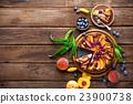 peach cake 23900738