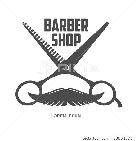 vintage barber shop logos, labels, badges, design 23901370