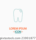 Tooth computer symbol 23901877