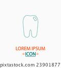 Tooth computer symbol 23901877