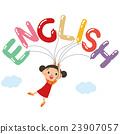 alphabet english balloons 23907057