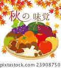 秋之美食 秋天 秋季原料 23908750