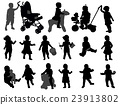 toddlers silhouettes collection 23913802