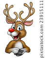 Christmas Reindeer Cartoon 23915111