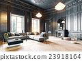 black living room 23918164