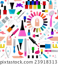 Manicure, nail salon. Seamless pattern 23918313