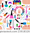 Manicure, nail salon. Seamless pattern 23918326