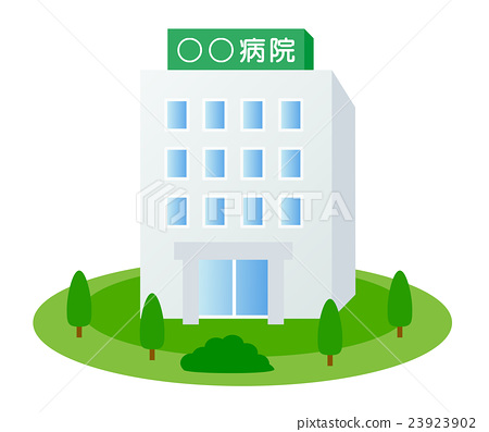 Hospital building 2 23923902
