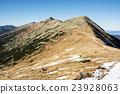 Footpath leading up the peak Chopok, Low Tatras 23928063