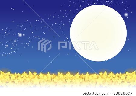 Background Material Wallpaper Starry Sky Star Stock Illustration 23929677 Pixta