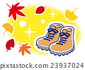 autumn, autumnal, hiking shoes 23937024